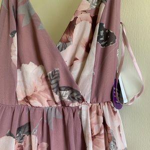 Windsor floral maxi dress NWT